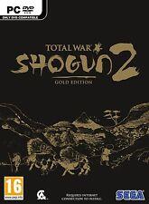 PC juego * Shogun 2 Total War oro Limited Edition caso of the Samurai *** nuevo