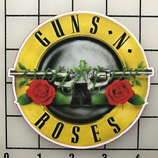 "Guns N' Roses 4"" Wide Multi-Color Vinyl Decal Sticker - BOGO"