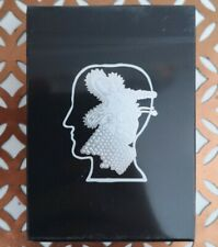 Black Braindead Fontaine Playing Cards New Sealed Limited Edition Cardistry Deck