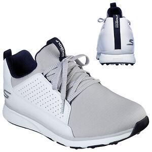 2021 Skechers Mens Go Golf Mojo Elite Golf Shoes Waterproof Spikeless Leather