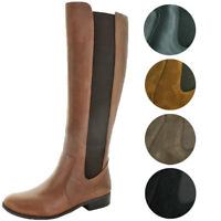 Jessica Simpson Women's Ricel 2 Wide Calf Knee High Leather Boots