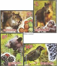 Romania 6861A-6864A (complete.issue.) unmounted mint / never hinged 2014 Fruits