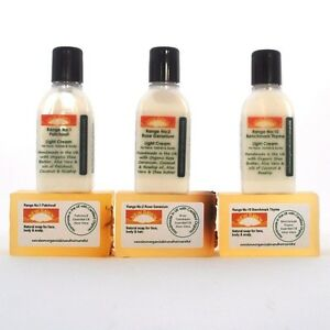 PSORIASIS relief - Organic Cleanser and Cream Sample Pack for Itchy Red Skin