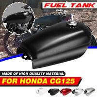 1 Set Motorcycle Cafe Racer 2.4 Gallon 9L Vintage Fuel Gas Tank For Honda