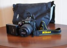 Nikon D5100 16.2MP Digital SLR Camera - Black (Kit w/ AF-S DX VR ED G...