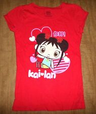 NI HAO KAI-LAN tee youth small Nickelodeon cartoon TV Chinese bicultural T shirt