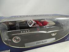 1:18 Motor Motor Max # 73116 1949 Buick Convertible Negro Negro Rareza