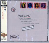 FREE-FREE LIVE-JAPAN SHM-CD BONUS TRACK D50