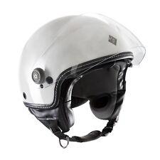 Casco Helmet Demi-jet El'mettin Bianco ghiaccio lucido Tucano Urbano Tg L