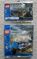 LEGO Castle Knights Kingdoms II - Super Rare - 5998 Vladek & 5994 Catapult - New