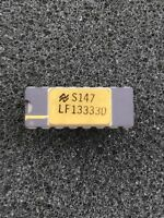 LF13333D Quad SPST JFET Analog Switches