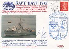 3RNCHSP13  M1073 Schleswig German Navy, Navy Days 1995 Signed