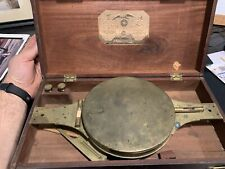 Richard Patten Compass Antique Brass Surveyor's Compass