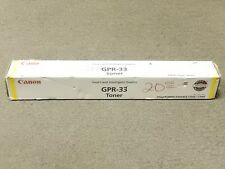 Canon GPR-33 GPR33 Yellow Toner 2804B003AA IR ADV C7055 New Sealed Damaged Box
