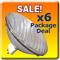 6x Stage DJ 300 PAR 56 MFL Light Bulb 300W PAR56 Lamp