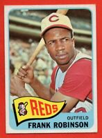 1965 Topps #120 Frank Robinson EX/EX+ MARKED Cincinnati Reds HOF FREE SHIPPING