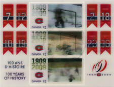 Canada 2009 Montreal Canadiens Hockey Souvenir Sheet Used