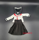"""1:6 School Uniform Pleated Skirt Clothes Outfit For 12"""" Female PH TBL UD Figure"""