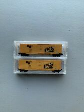 Micro Trains N Scale Special Run Solid Gold 2 Pack 6 Of 150