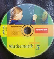 Mathematik 5 Lern-CD 5. Klasse Realschule Hessen CD Westermann