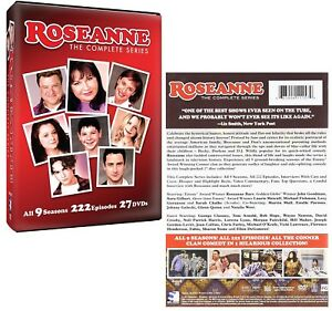 ROSEANNE 1-9 (1988-1997) The COMPLETE CLASSIC Comedy TV Season Series NEW R1 DVD