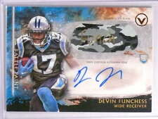 2015 Topps Valor Devin Funchess Eye Black autograph auto rc #D1/2 *70100