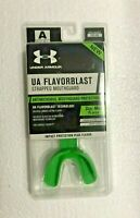 Under Armour Flavor Blast Strapped Mouthguard Hyper Green-Mint R-1-1554 Adult