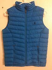 """Boy's POLO RALPH LAUREN """" Horizon Bl"""" Lightweight Puffer Vest (Size: L/14-16)"""