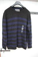 Pullover Marc O`Polo Gr. XL - 52  -54  blau anthrazit Streifen - Neuware