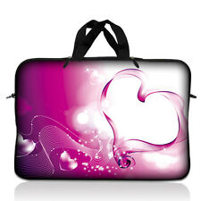 "10"" 10.1"" Laptop Sleeve Netbook Sleeve Bag Case Cover Tablet Pink Heart 10-S08"