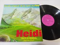 "Heidi Bso Banda Sonora Serie Rtve Folge 3-4-5 LP Vinyl vinyl 12 "" Rca 1975"