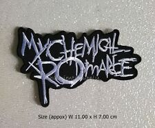 My Chemical Romance Embroidered Sew Iron On Patch rock Band Logo Alternative
