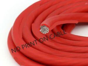 KnuKonceptz Kolossus Flex 1/0 Gauge Red OFC Power Ground Battery Wire 20' Copper