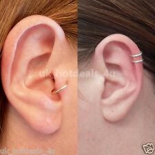 20g Silver Cartilage Earring Helix Earring Hoop Tragus Ring Nose Hoop Ring
