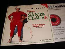 "SANTA CLAUDE  °  TIM ALLEN <> 12"" Laserdisc <> DYSNEY HOME VIDEO  3633 AS"