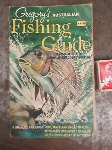 Gregory's  Fishing  Guide Book  C 1960. 288 pages