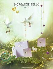 Publicité Advertising 1019 2009  Morganne Bello   joaillier bijoux