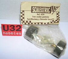 SCALEXTRIC EXIN 6124 EJE TRASERO FORD MUSTANG CHEVROLET CORVETTE  EN BLISTER