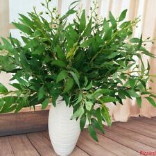 Soie saules plantes artificielles feuilles guirlande faux feuillage décor SH