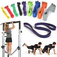 Rubber Stretch Train Pull Up Exercise Loop Resistance Band Yoga Gym Fitness Hot