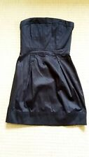 NWOT French Connection black bandeau mini dress size 6