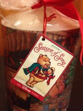 Disney'S Winnie The Pooh Season Of Song Candle. Red Bow With Price Tag.