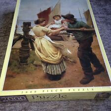 NEW/RARE Fishermans Friend George Swinstead JR Puzzles Collection Jigsaw Puzzle