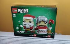 Lego 40274 Brickheadz Mr & Mrs Claus neuf new Xmas ****