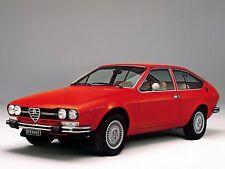 ADESIVO STICKER Alfa Romeo Alfetta GTV 2000