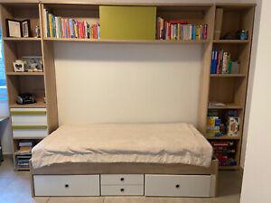 Möbel Bett und Schrank