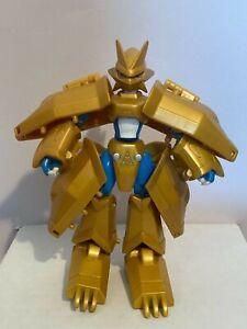 "Digimon Magnamon 6"" action figure, Digivolving Digiegg Bandai, 2000, RARE!"