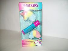 Smackers Unicorn lip balm And bath bomb boxed set New