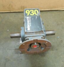 WINSMITH 930MWT 60:1 RATIO DOUBLE OUTPUT RIGHT ANGLE GEARBOX 1.21HP