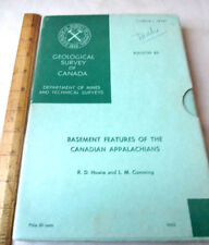 GEOLOGICAL SURVEY Of CANADA,1963,R.D. Howie & L.M. Cumming,Illust,Boxed